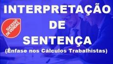 Interpretação de Sentença para Cálculos Trabalhistas
