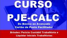 PJE-CALC  (Do Básico ao Avançado)-GANHE 2 CURSOS